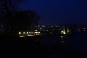 Bådebro ved Skanderborg kulturhus