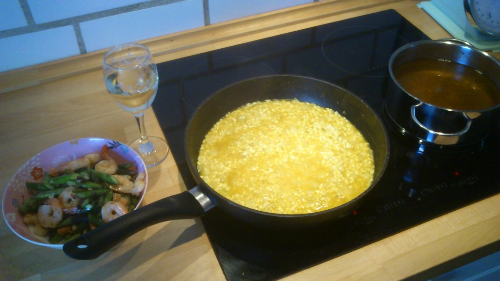 Risotto under vejs